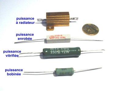 achat resistance electronique